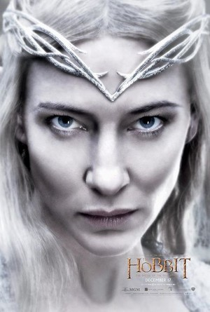 The Hobbit: The Battle Of The Five Armies - Lady Galadriel Character Poster
