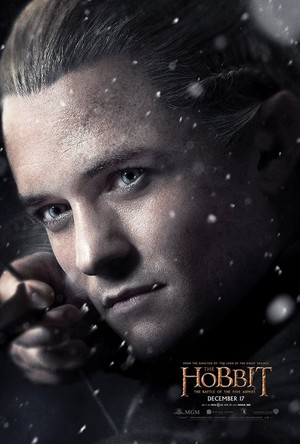 The Hobbit: The Battle Of The Five Armies - Legolas Greenleaf Character Poster