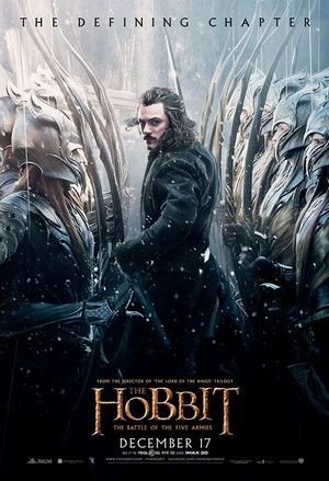 The Hobbit: The Battle Of The Five Armies - Poster of Bard (and army of Mirkwood Elves!)