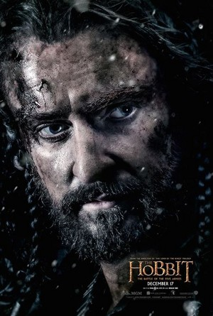 The Hobbit: The Battle Of The Five Armies - Thorin Oakenshield Character Poster