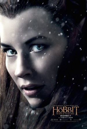 The Hobbit: The Battle Of The Five Armis - Tauriel Character Poster