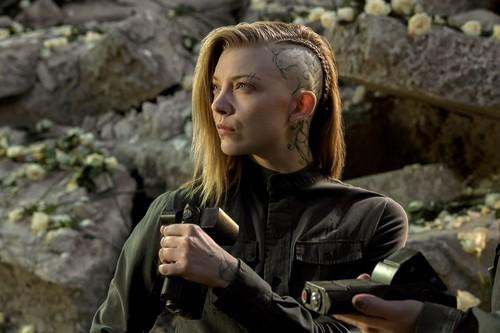 natalie dormer fondo de pantalla titled The Hunger Games: Mockingjay Part 1 (2015) > Production Stills