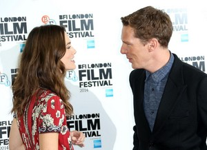 The Imitation Game - BFI লন্ডন Film Festival Red Carpet