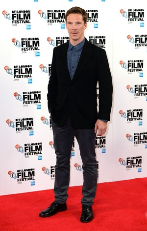 The Imitation Game - BFI 런던 Film Festival Red Carpet