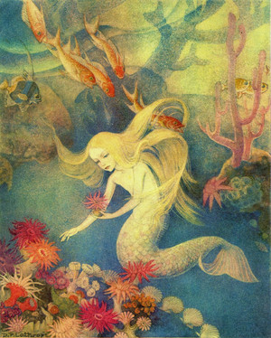 TheOpalDreamCave: The Little Mermaid by Dorothy Lathrop