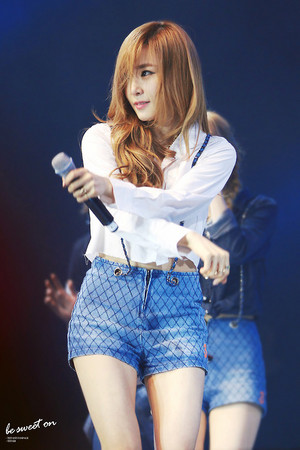 Tiffany on stage