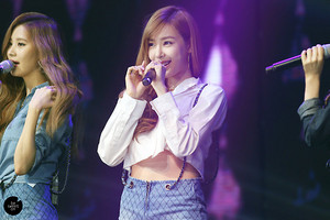 Tiffany on stage