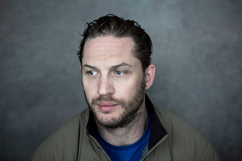Tom Hardy wallpaper probably with a portrait titled Tom Hardy promotes his new movie THE DROP