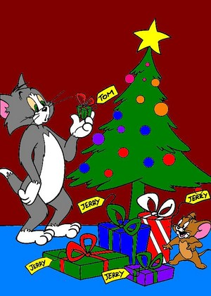 Tom and Jerry Weihnachten