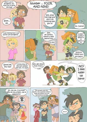 Total Drama Island wallpaper with anime called Total Drama Kids Comic: Page 22