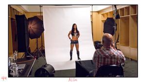 Unseen Diva foto - AJ Lee