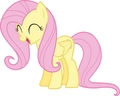 Very happy Fluttershy