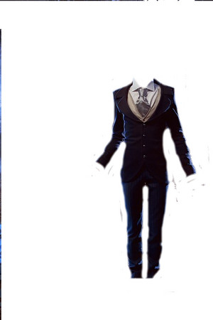 Victor's Suit transparent