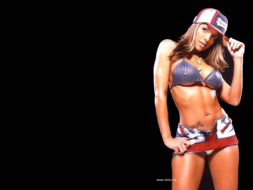 Vida Guerra wallpaper with a bikini titled Vida
