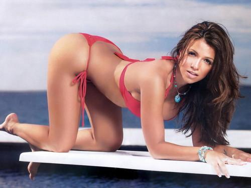 Vida Guerra kertas dinding containing a bikini titled Vida