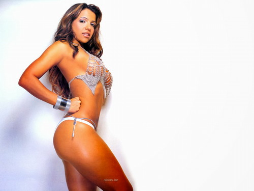 Vida Guerra wallpaper containing a bikini called Vida