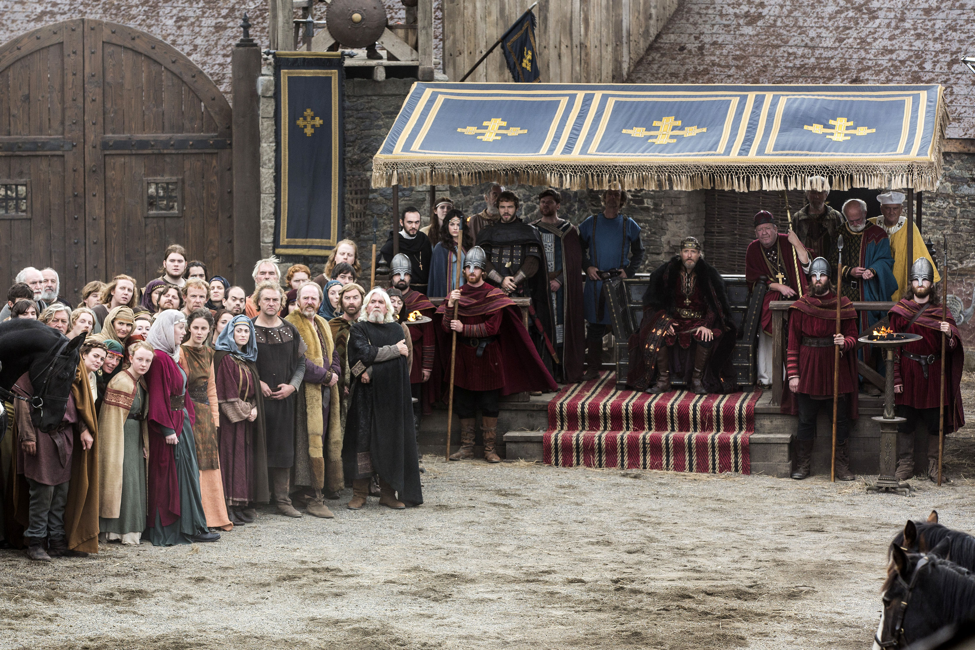 """Vikings """"Blood Eagle"""" (2x07) promotional picture"""