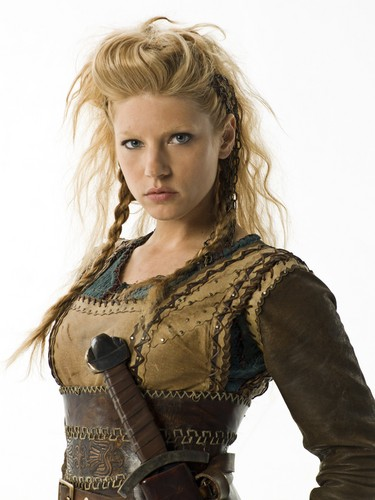 Vikings (TV Series) karatasi la kupamba ukuta entitled Vikings Season 1 Lagertha official picture