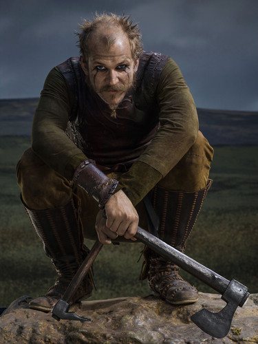 Vikings (TV Series) karatasi la kupamba ukuta titled Vikings Season 2 Floki official picture