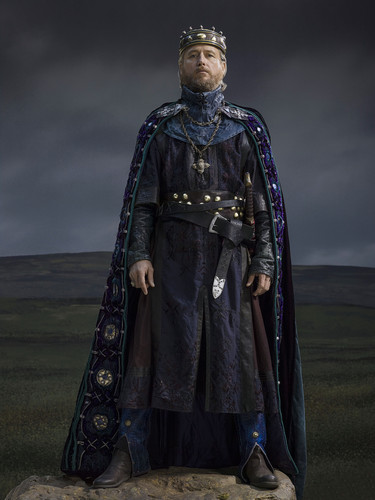 Vikings (TV Series) wallpaper possibly containing a surcoat titled Vikings Season 2 King Ecbert official picture