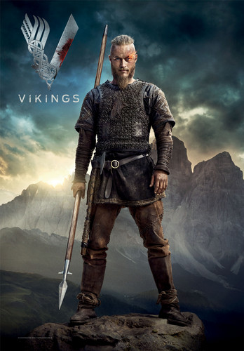 Vikings (TV Series) karatasi la kupamba ukuta entitled Vikings Season 2 Ragnar Lothbrok official picture