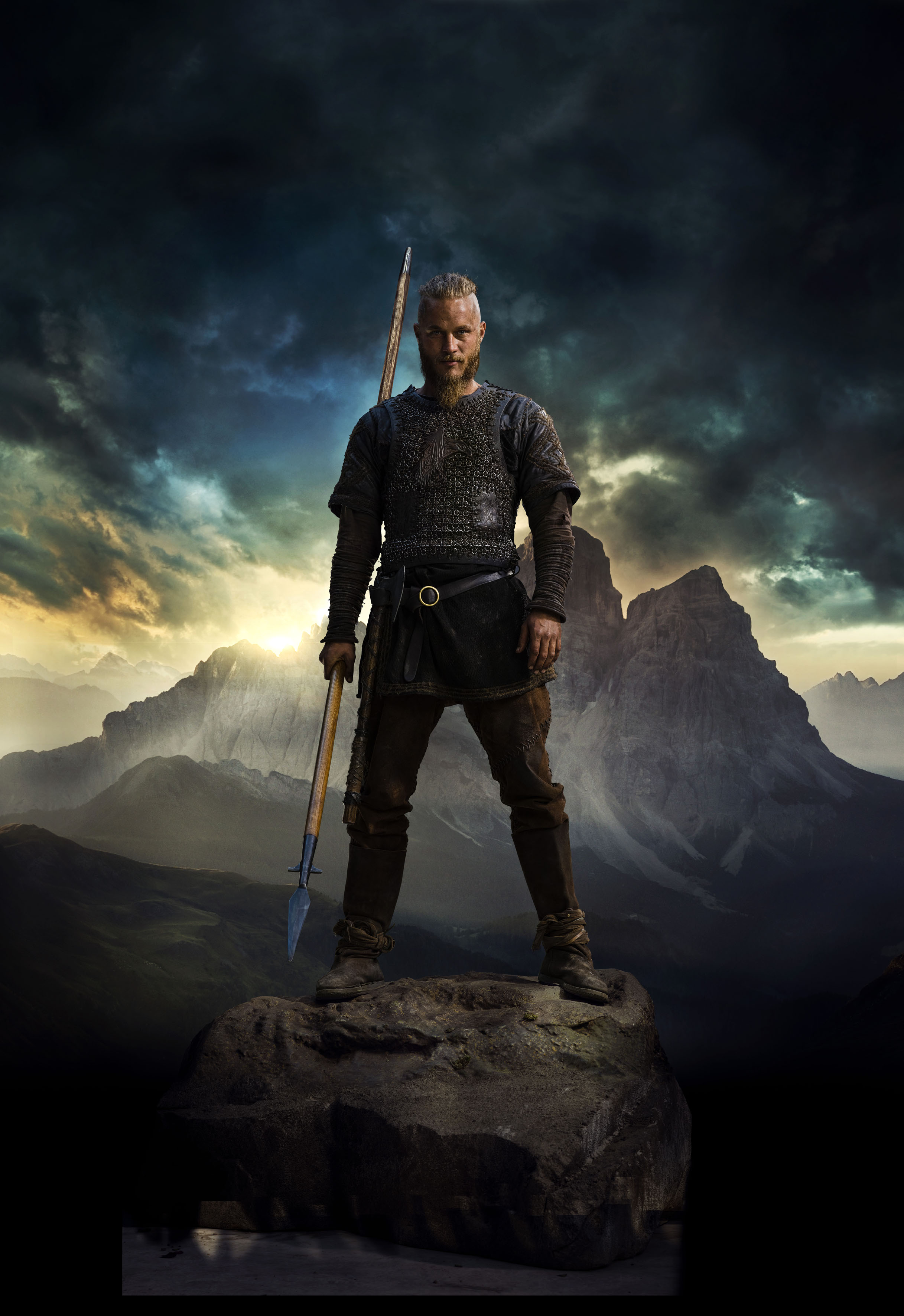 Vikings Season 2 Ragnar Lothbrok official picture