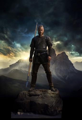 vikingos (serie de televisión) wallpaper titled Vikings Season 2 Ragnar Lothbrok official picture