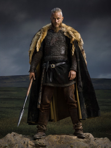 Vikings (TV Series) karatasi la kupamba ukuta called Vikings Season 2 Ragnar Lothbrok official picture