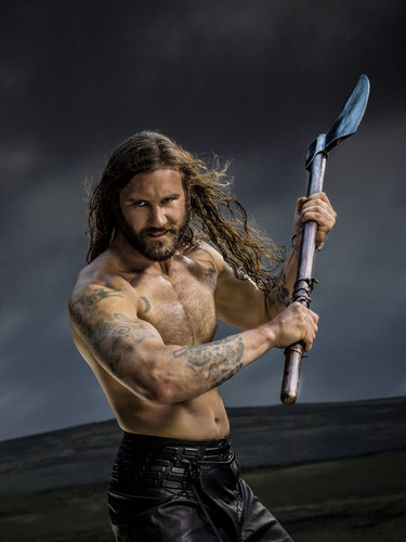 Vikings (TV Series) karatasi la kupamba ukuta titled Vikings Season 2 Rollo official picture