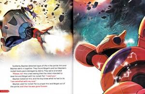 Walt disney Book gambar - Hiro Hamada & Baymax