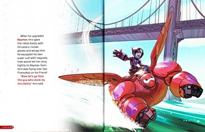 Walt Disney Book larawan - Hiro Hamada & Baymax
