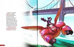 Walt Disney Book hình ảnh - Hiro Hamada & Baymax