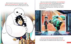 Walt 迪士尼 Book 图片 - Hiro Hamada & Baymax
