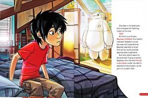 Walt Disney Book imej - Hiro Hamada & Baymax