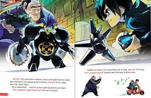 Walt Disney Book hình ảnh - Hiro Hamada & Tadashi Hamada