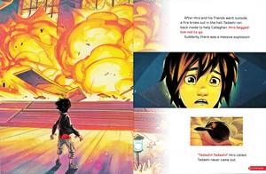 Walt Disney Book larawan - Hiro Hamada