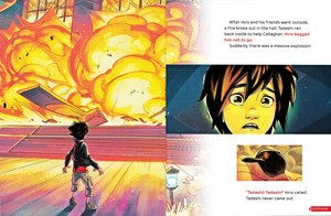 Walt Disney Book afbeeldingen - Hiro Hamada