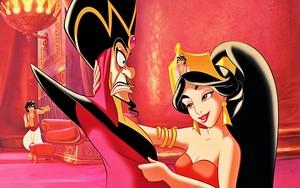 Walt Disney Book afbeeldingen - Prince Aladdin, Jafar & Princess jasmijn