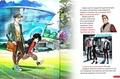 Walt Disney Book Images - Tadashi Hamada, Hiro Hamada & Professor Robert Callaghan