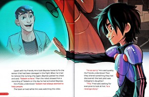 Walt Disney Book تصاویر - Tadashi Hamada & Hiro Hamada