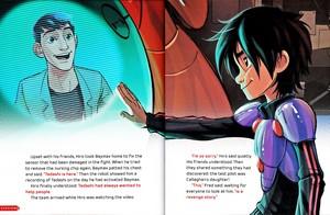 Walt Disney Book imej - Tadashi Hamada & Hiro Hamada