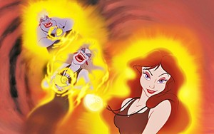 Walt Disney Book larawan - Ursula & Vanessa
