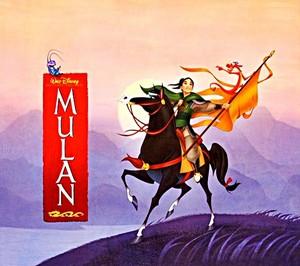 Walt Disney تصاویر - Cri-kee, Khan, Fa Mulan & Mushu
