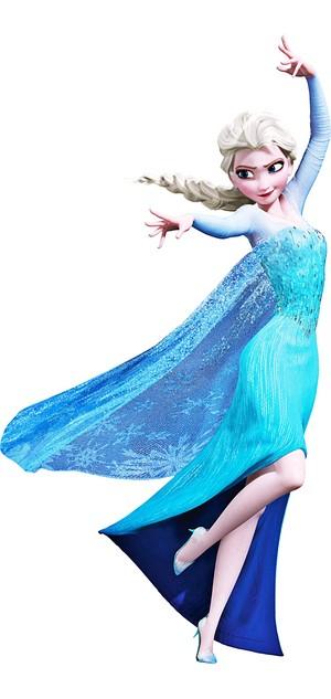 Walt Disney larawan - reyna Elsa