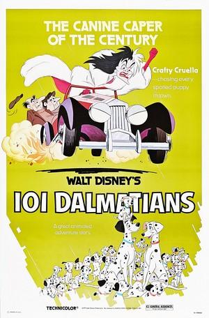 Walt Disney Posters - 101 Dalmatians