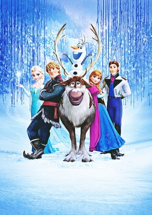 Walt ディズニー Posters - アナと雪の女王