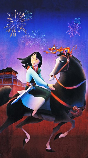 Walt 迪士尼 Posters - 花木兰
