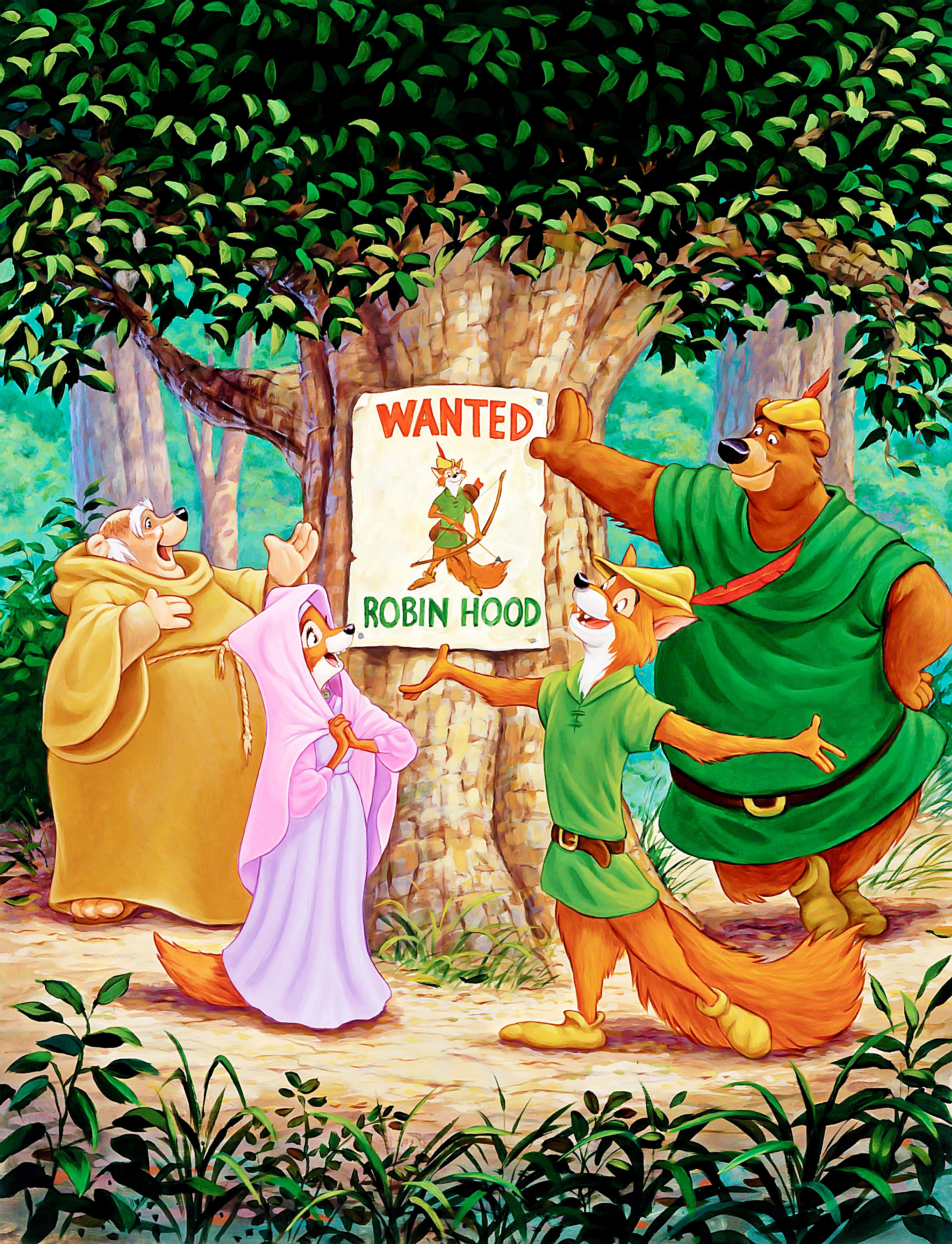 Walt Disney Characters Images Walt Disney Posters Robin Hood Hd