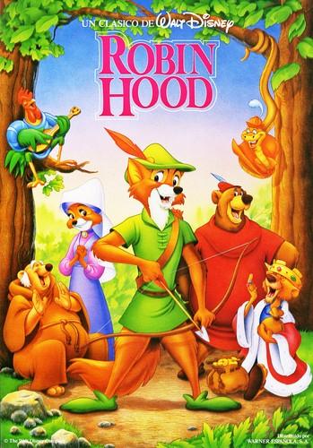 Walt Disney Characters karatasi la kupamba ukuta with anime entitled Walt Disney Posters - Robin kofia