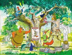 Walt Disney Posters - Robin capuche, hotte
